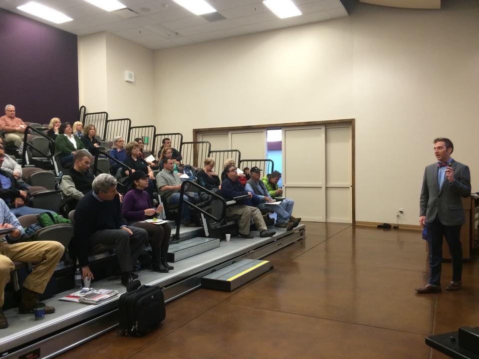 SteamMaster conducts Collections Class at CMC with TJ Voboril