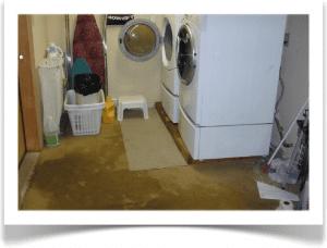 water damage emergency response