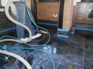 Before Marble Floor Polishing