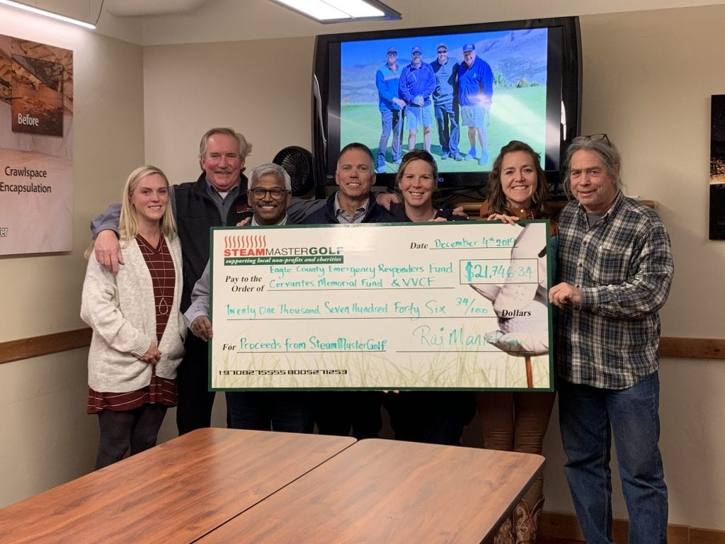 SteamMaster Annual Golf Raised $32,000